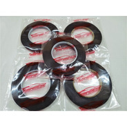 Cinta Bifaz Espumosa Negra Doble Adhesivo 8mm X 5 Mts