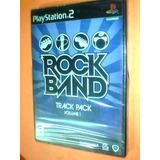 Rock Band Track Pack Volume 1 - Ps2 - Original Nuevo
