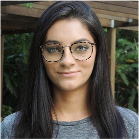 Armação De Grau Óculos Vintage Geek Retrô - Óculos no Mercado Livre ... aa26d64445