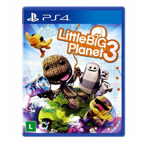 Jogo N254 Little Big Planet 3 Ps4 Mídia Física Lacrado