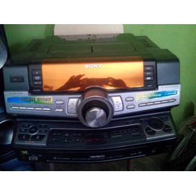 Equipo De Sonido Sony Modelo Genezi Fstsux9 250wat 11000w