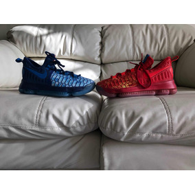 Tenis Nike Kevin Durant 9 Fire And Ice Del 23mx Dama O Niño