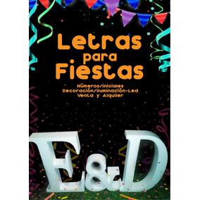Letras Para Fiestas, Letras Grandes, Letras 15 Años Y Bodas.