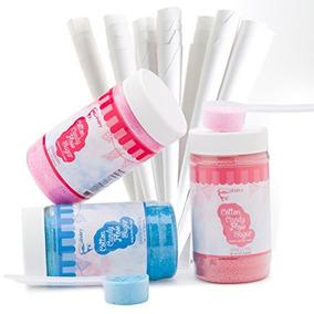 El Kit De Azúcar Candy Candy Floss Sugar -raspberry Blue, V
