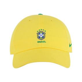 Bone Do Barcelona Nike Aba Curva - Bonés Amarelo no Mercado Livre Brasil a7c6b4a0fc3