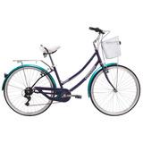 Bicicleta Oxford Cyclotour Aro 26 Mujer 6v Talla S