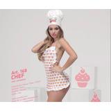 Disfraz De Cocinera Sexy - 4bidden - Sex Shop - Chef