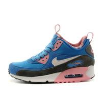 Nike Air Max 90 Sneackerboots Women´s, Blue Pink, Originales