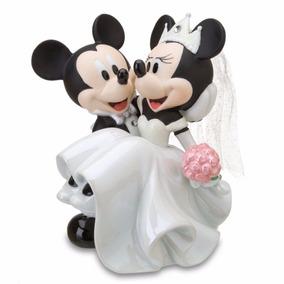 Topo De Bolo Mickey Minnie - Porcelana - Casamento - Disney
