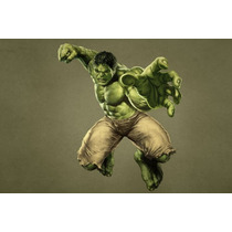 Painel Decorativo Festa Infantil David Banner Hulk (mod3)