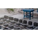 Mesa Vibratoria Para Fabricar Blocos De Concreto Com Forma