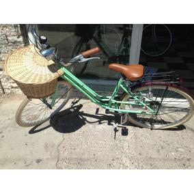 Bicicleta Retro Vintage Equipada R26