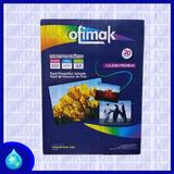 Papel Fotografico Premium Ofimak 20 Hojas A4 200gr Satinado