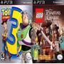 Toy Story 3 + Lego Piratas Caribe Ps3
