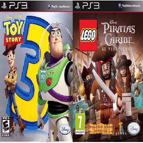 Toy Story 3 + Lego Piratas Caribe Ps3