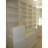 Mostradores Instalaciones De Negocios Librerias Farmacias