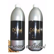 1 Litro Da Escova Cristal + Shampoo