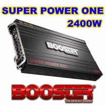 Modulo Power One Force One Booster Ba-4510d 2400w 4 Canais