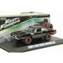 Dodge Charger Dom 1970 Greenlight Rapido Y Furioso Esc 1/43