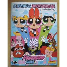 Álbum Figurinhas As Meninas Super Poderosas Completo P/colar