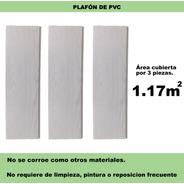 3 Piezas De .20cm X 1.95m Cielo Raso Panel Pvc Greenline