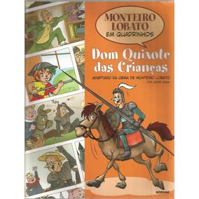 Livro - Dom Quixote Das Crianças, Em Quadrinhos.