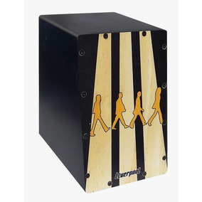 Mini Cajon Estampa The Beatles Liverpooll Caj Btl