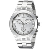 Reloj Swatch Hombre Svck4038g Full Blooded Silver