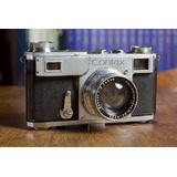 Contax Ii Telemetrica Carl Zeiss Impecable No Leica