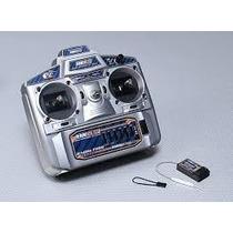 Rádio Controle Hobbyking Hk6s 2.4ghz Fhss 6ch Tx&rx (mode 2)