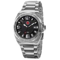 Relógio Technos Ref: Vasao2315al/p Vasco Da Gama