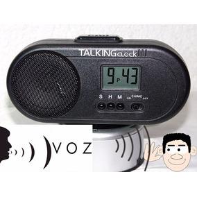 Reloj Despertador Parlante Da La Hr Hablando En Español Util