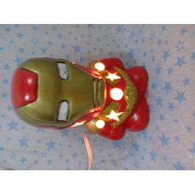 Lámparas De Super Héroes Hechas En Cerámica Mayoreo