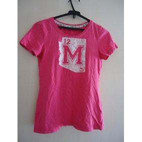 Camiseta Puma Feminina P Usada