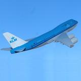 Boeing 747 Avión De Klm, Esc 1:500 - Envío Gratis