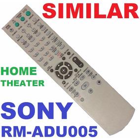Controle Remoto Repõe Sony Rm-adu005 Home Theater Dav-dz20