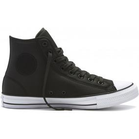 zapatillas negras converse mujer