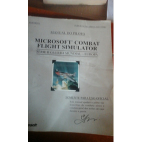 Livro Microsoft Combat Flight Simulator Manual Do Piloto