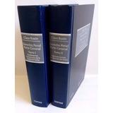 Libro Derecho Penal Parte General Claus Roxin Tomo I Y Ii