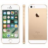 Iphone Se 16gb Dourado Tela 4, De Vitrine Impecável!