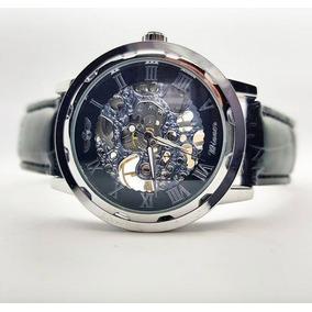 Reloj Winner Silver Leaf - Mecánico