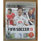 Videojuego Ps3 Fifa Soccer 11 Rated E
