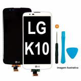 Frontal Tela Display Touch Lg K10 K430tv K420n + Ferramentas