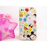 Case Protector Transparente Personajes Disney Para Iphone 5c