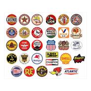 Kit De Adesivos De Logos Antigos 30 Unidades