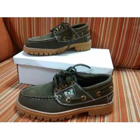 Zapatos Náuticos De Cuero