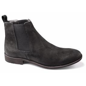 Bota Masculina Urbana Chelsea Boots Botina Couro Nobre Luxo