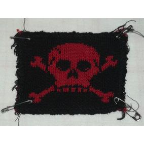 Lote Com 3 Patches De Pirata Diferentes Kiss Me Bandeira