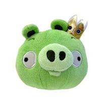 Angry Birds Felpa 8 Pulgadas Rey Cerdo Con Sonido