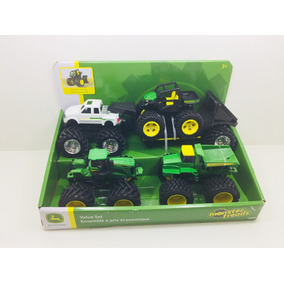 Kit Miniaturas Tratores Monster Treads John Deere 1/50 Ertl